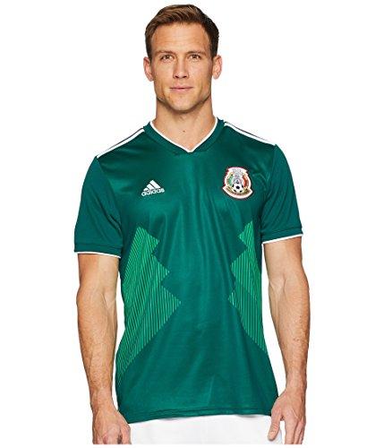- adidas Men's 2018 Mexico Home Replica Jersey Collegiate Green/White XX-Large