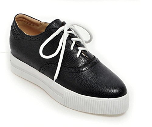 Frau 5 Schuhe und im CN35 Spitze dicke 5 Schuhe US5 Schuhe Frühjahr Herbst Kruste Damen Schuhe Muffin UK3 EU35 Ix6pRwrxq