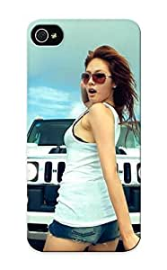 Hot Design Premium CefoS0QKDTr Tpu Case Cover Iphone 6 plus 5.5 Protection Case (women Cars Asians Korean Vehicles Kpop Hummer Hyuna Denim Shorts )