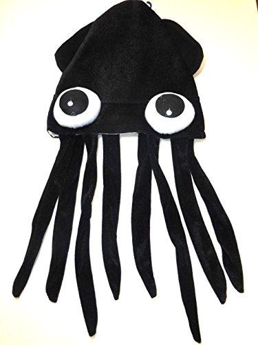 Black Novelty 22 inch Costume Hat-One Size Fits Most-Brand New! 8h Black Nylon