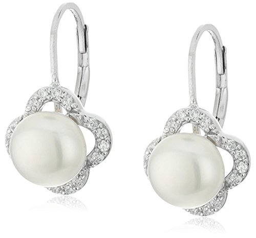 Pearl Sterling Silver Curves - 4