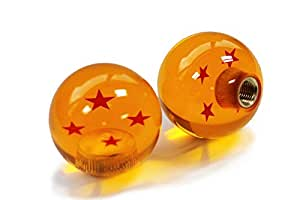 Kei Project Dragon ball Z Star Manual Stick Shift Knob With Adapters Fits Most Cars (4 Star)