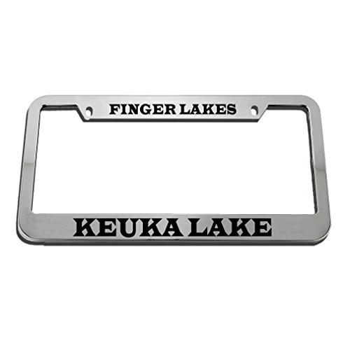 Speedy Pros Finger Lakes Keuka Lake License Plate Frame Tag Holder by Speedy Pros
