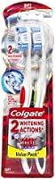Colgate 360 Optic White Toothbrush, Soft - 2 Pack