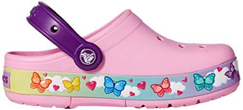 Carnation Butterflyband Kids Crocs Clog Funlab Lights aXwwRx