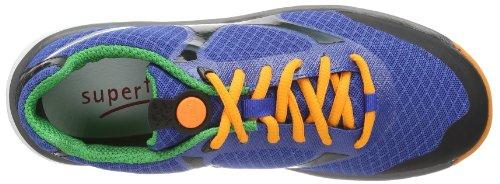 Superfit Lumis 200411 - Zapatillas para unisex-niño Azul (Blau (bluet kombi 85))