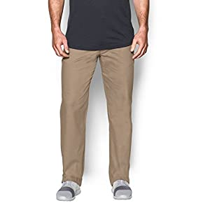Under Armour Men's Performance Chino – Straight Leg, Canvas /Canvas, 38/32