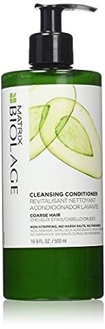 Matrix Biolage Cleansing Conditioner for Unisex Coarse Hair, 16.89 Ounce (Matrix Biolage Conditioning)