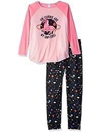 Girls' Long Sleeve Top and Pants Pajama Set