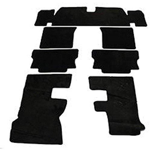 Eckler's Premier Quality Products 33252966 Camaro Under Carpet Sound Deadener Set Asphalt Mat
