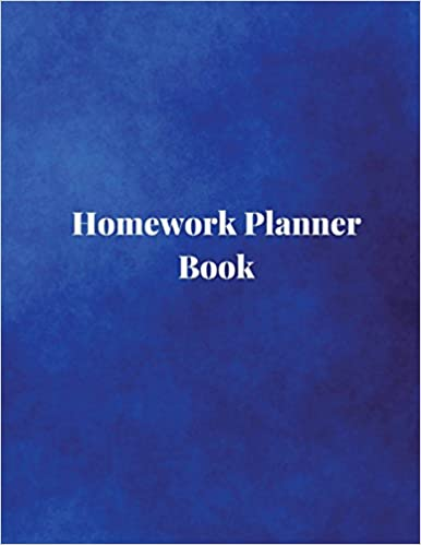 homework planner book undated homework planner student homework