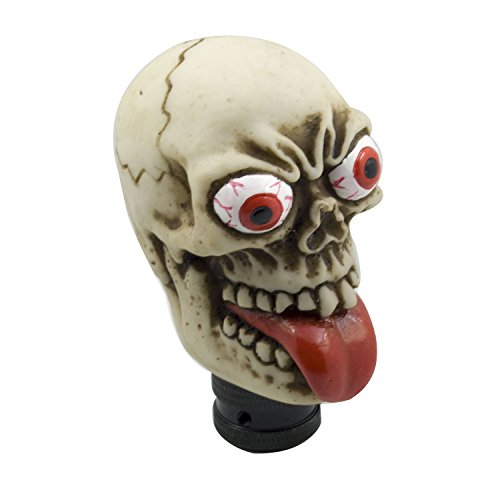 Shift Skull - Mavota Yellow Skull Manual Automatic Gear Shift Knobs