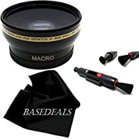 52MM Wide Angle LENS + Macro Lens for Nikon Df D3000 D3200 D3100 D5000 D5500 D90