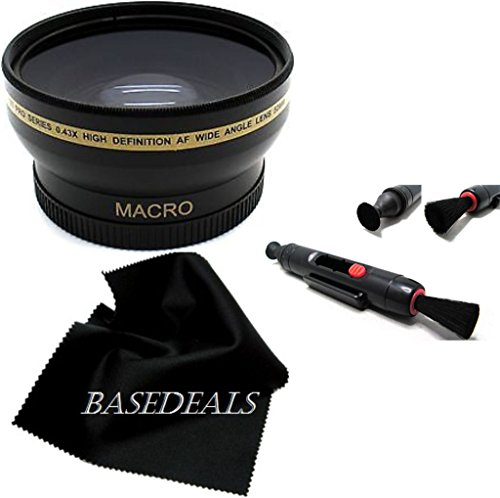 52MM 0.43X Soft Fisheye Macro Lens for Nikon D3100 D5000 D5100 D5200 D5300 HD