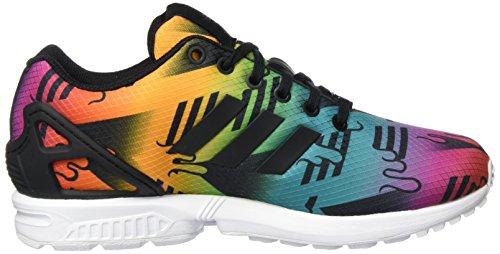 adidas Zx Flux, Zapatillas para Hombre Negro / Multicolor