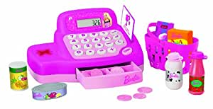 Barbie - Caja registradora y accesorios de supermercado [importado de Alemania]