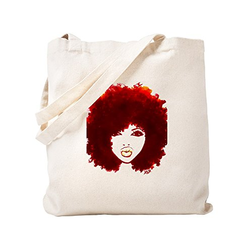 CafePress - Diva - Natural Canvas Tote Bag, Cloth Shopping (Natural Fabric Handbags)