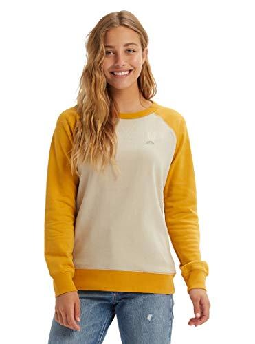 Burton Women's Keeler Crew Sweatshirt, Pelican, Large