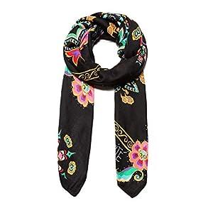 Foulard Mujer Desigual New Tapestry Negro | DeHippies.com
