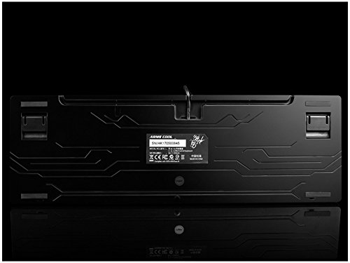 Sunnyshinee Clásico Teclado de Juego mecánico retroiluminado Teclas estándar Teclado USB Vintage (Dorado) para computadora: Amazon.es: Electrónica