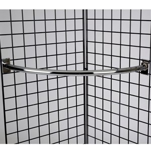 Grid quarter circle hangrail chrome