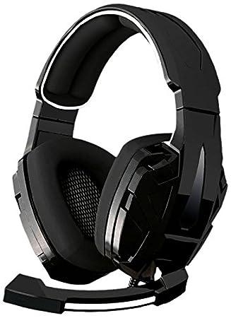 BG-Gaming Xonar-X7 - Auriculares de Diadema Cerrados Gaming