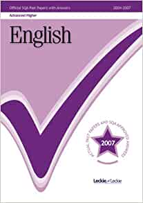 sqa advanced higher english dissertation