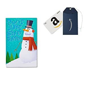 amazon   american greetings funny dancing snowman