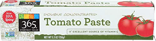 365 Everyday Value, Double Concentrated Tomato Paste, 5.3 oz ()