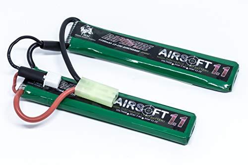 Bateria de Lipo Airsoft Rapidfire 1100mAh 7.4V 20C - AEG