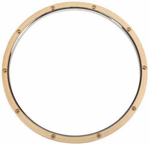 Gibraltar SC-1410MW Dunn Wood/Metal Hoop 14 Inch (Batter Side Snare Drum Hoop)