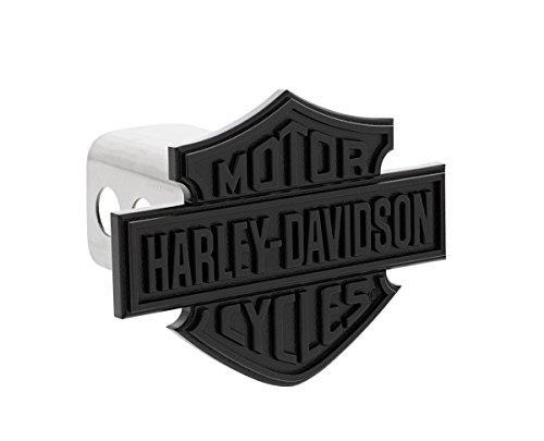 Harley-Davidson Black Bar & Shield Trailer Hitch Cover Plug by Harley-Davidson