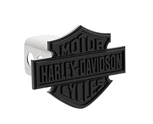 Harley-Davidson Black Bar & Shield Trailer Hitch Cover -