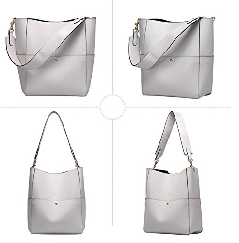 Bolsa Para Mujer Top-Handle Gray