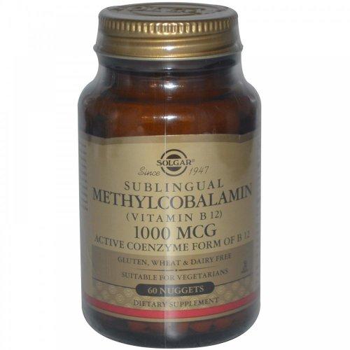 Solgar – Methylcobalamin (Vitamin B12) 1000 mcg Nuggets