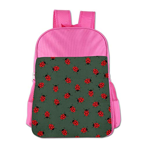 CHLING School Backpack Ladybug Classic Basic Bookbags Travel Outdoor Daypack for Boys ()