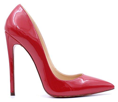 Taille Casual Hauts Talons Escarpins Féminins Rouge Ubeauty Grande De Classiques Sexy Femmes nAzwOxHRqO