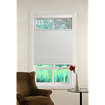 Top Down/Bottom Up White Honeycomb Cellular Shade (23Wx64L)