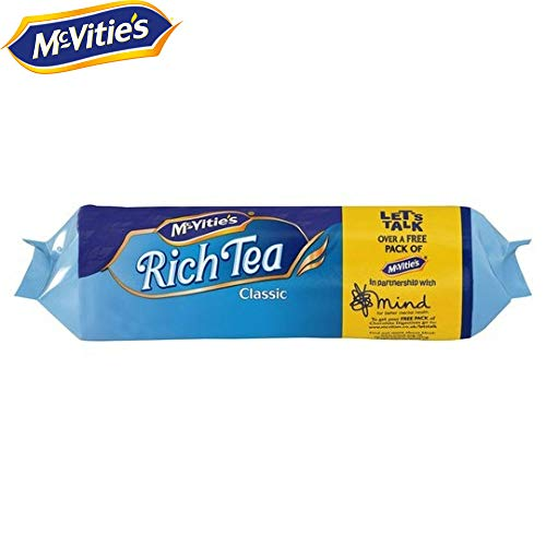 McVitie's Classic Rich Tea Biscuits 300g (12 Packs)