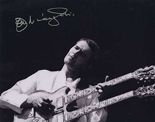 John McLaughlin - Jazz Guitarist - Authentic Autographed 8x10 Photograph by JG Autographs, Inc.
