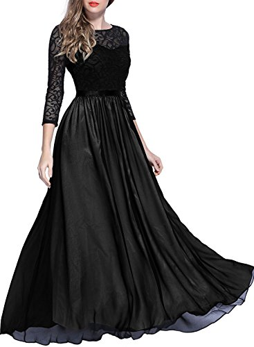 long black formal dresses with sleeves - 2