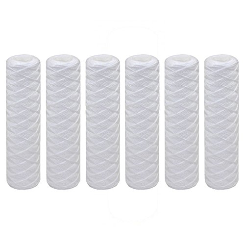 10 x 2.5 20 Micron String Wound Polypropylene Water Filter 6