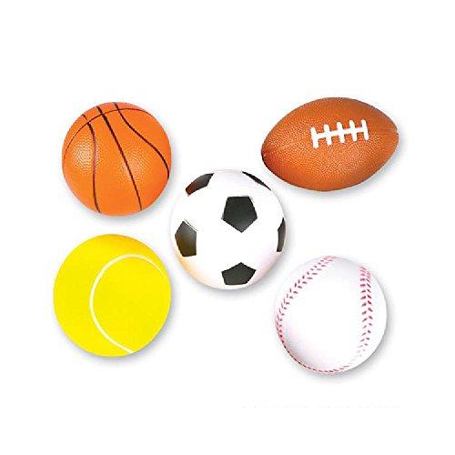 Foam Sports Balls by Bargain World