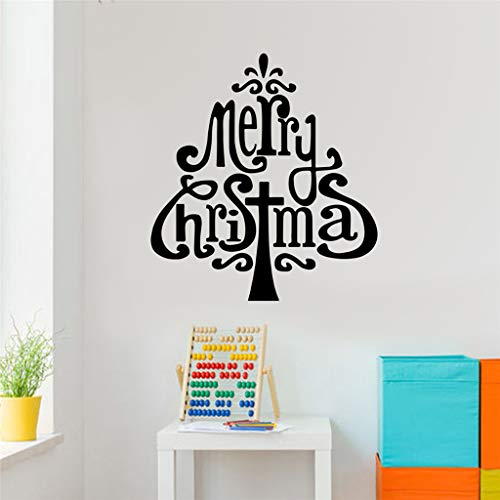 Iusun Merry Christmas Tree Wall Stickers DIY Mobile Creative Window Decals for -