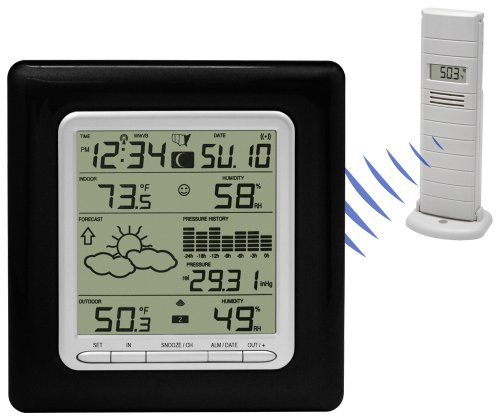 La Crosse Technology WS-9047U-IT Wireless Weather Station with Pressure Graph