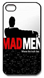 Mad Men Movie Protective Hard Plastic Back Fits Cover Case for iphone 4 iphone 4s -1122024