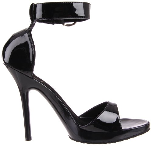 Black Patent Pleaser Women's Vogue 31 Platform xq6UpI6