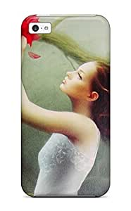 Slim Fit Tpu Protector Shock Absorbent Bumper Women Case For Iphone 5c