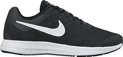 Nike Boys Downshifter 7 Wide (GS) Running Shoe Black/White/Anthracite Size 6 Wide US