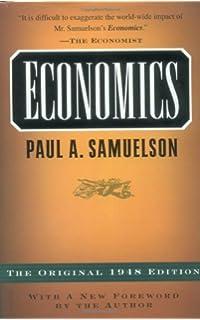 Economics paul a samuelson william d nordhaus 9780073511290 economics the original 1948 edition fandeluxe Choice Image